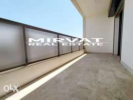 New Apartment For Sale Achrafieh| Balcony & Open View