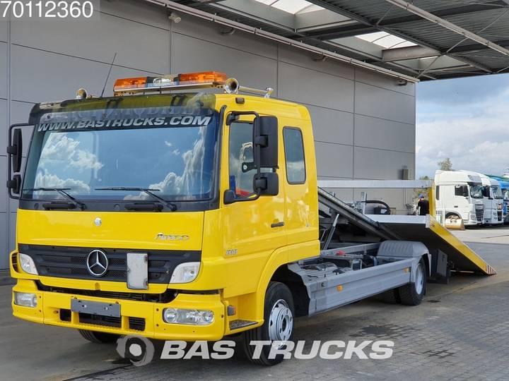 Mercedes-Benz Atego 818 L 4X2 Schiebeplateau Bergingswagen / Abschleppw... - 2017