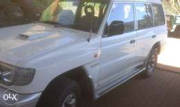 pagero 4x4 for sale