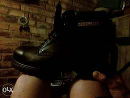 Caterpillar boots steel toe(uk 10)(new)to swop