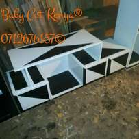 Black White tv stand