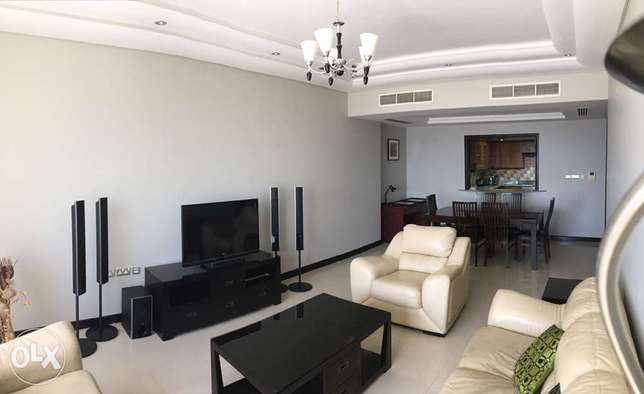 Gold tower 2 bedrooms at Abraaj al Lulu for sale