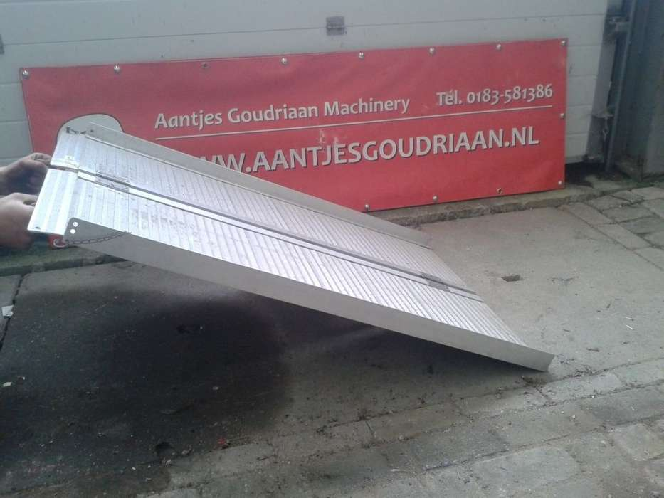 Opvouwbare Rijplank Mobile Yard Ramp