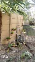 Decor Garden Bicycle with flowers