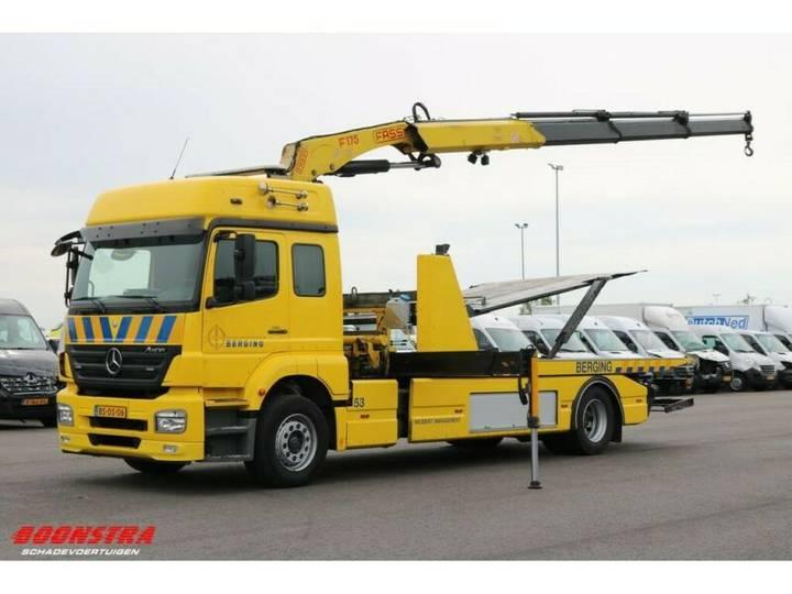 Mercedes-Benz Axor 1829 Doppelstock FASSI F175 Kran Bril Winde - 2006
