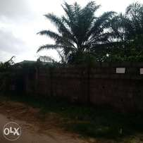 1,000 square meters for sale facing Addo road by Diamond Bank, Ajah