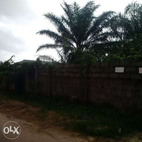For sale: 1,000 square meters facing Addo road by Diamond Bank, Ajah Lekki - image 1