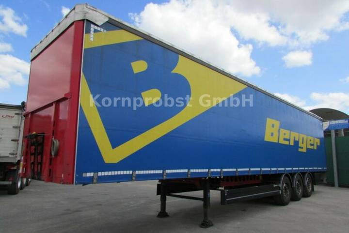 Berger SAPL 24 LTN - Tautliner - Zertifikat Nr.: 333 - 2014