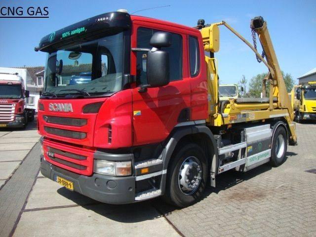 Scania 310 hyva lift 14 ton aardgas - 2012