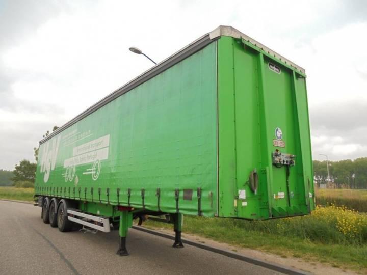 Van Hool 3-Axle Tautliner / SAF / Discbrakes / Coil - 2010