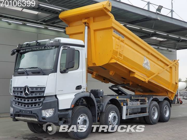 Mercedes-Benz Arocs 4142 K 8X4 Manual Big-Axle Steelsuspension Euro 6 - 2017