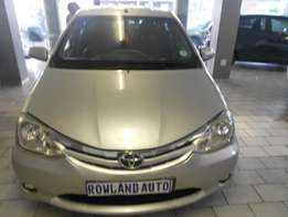 2013 Toyota Etios Sedan for sale R98 000