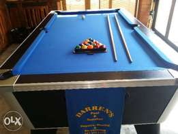 Pool table slate brand new imported