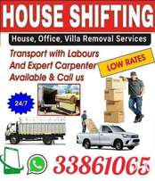 Professional Movers All type of furniture removing and fixing
