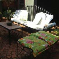 Wrought Iron Garden or Patio Furniture Set for Sale!