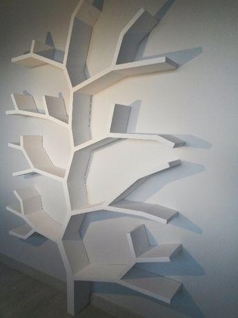 Regał Półka Drzewo Orginalne Półki Art Gdańsk