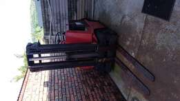 Forklift with chargers no battery