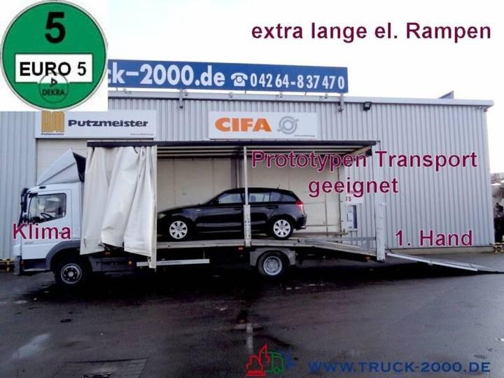 Mercedes-Benz 822 Atego Geschlossener Transport + el. Rampen - 2009