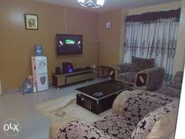 Fully furnished apartments for rent.