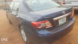 Registered Corolla 2010