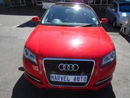 2012 Audi A3 Tfsi 1.4 SportPack Attracton For R175,000