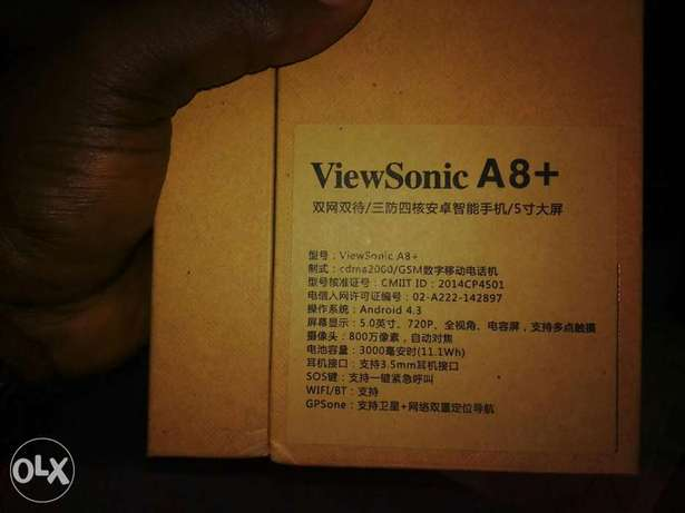 The New ViewSonic A8+ (Water Resistant) Ikeja - image 6