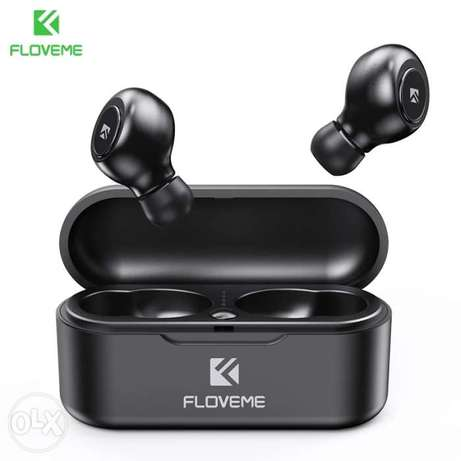 FLOVEME TWS 5.0 Wireless Headset Bluetooth Earphone Headphones For Sma