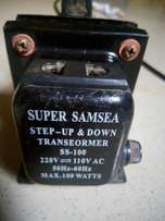 Step up and step transformer
