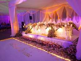 Events Decor=Weddings, Parties, Introductions