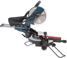 2000 Watt sliding compound mitre saw 250 v 4500 rpm