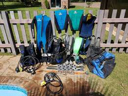 Diving gear (beuchat)