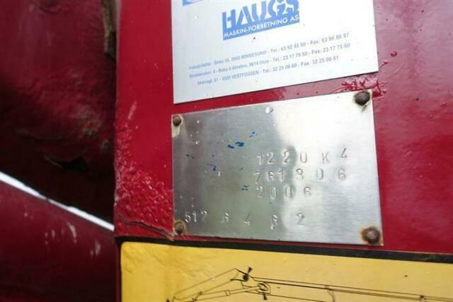 MAN Tga28.310 6x2 Crane/kran Hmf 1220 K4 Ual Euro - 2006 - image 10