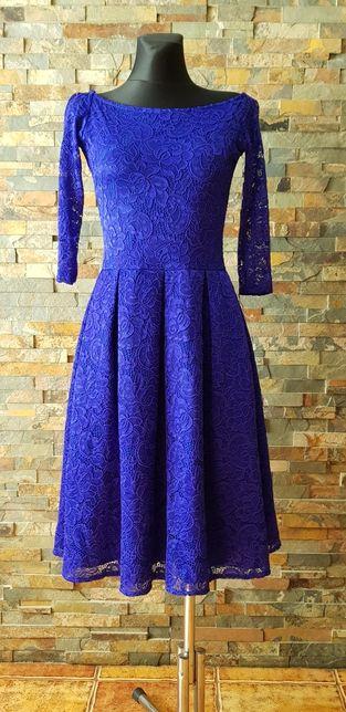b659dbbe0d S.MORISS rozmiar S piękna sukienka bal komunia wesele - Legnica - Sprzedam  piękną koronkową