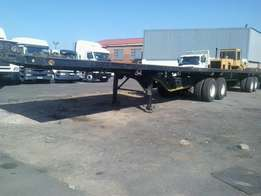 Super -Link Flat Deck Trailer For Sale