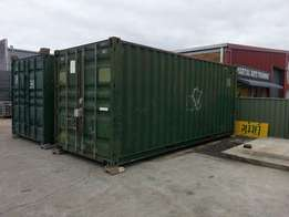 6.0m/20ft used Containers with built in shelving. delivery available