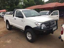2007 Toyota Hilux 2.7 VVTi Single Cab Bakkie