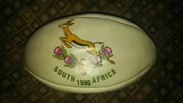 Springboks 1995 leather ball