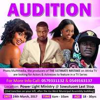 Audition for TV Series