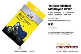 1st Gear Medium Motorcycle Cover