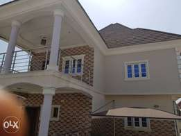 4 Bedroom duplex with 2Rooms bq for sale at life camp with c of o