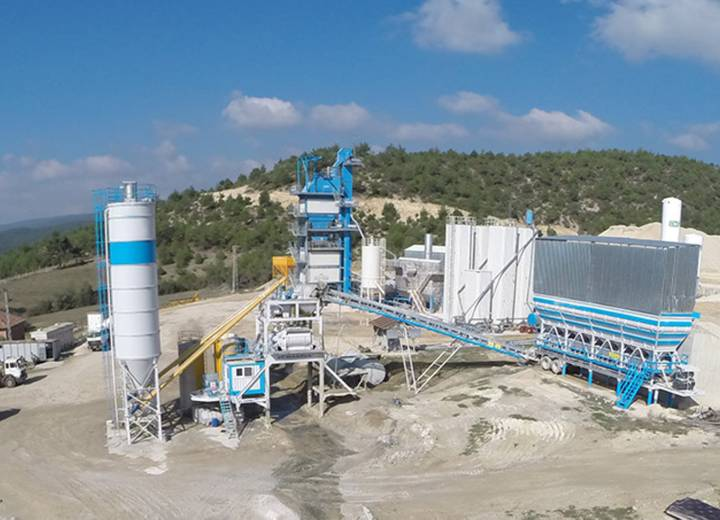 Fabo 100 M3 USED  MOBILE CONCRETE BATCHING PLANT
