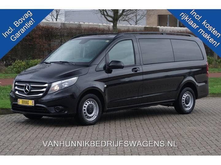 Mercedes-Benz Vito 111 CDI Lang Dubbel Cabine Airco, Navi, Camera, Crui... - 2016