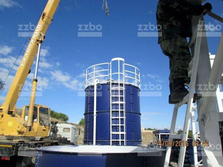 ZZBO Cement Silo Stsr-315 (315 Tons) Силос Цемента Сцр - 2019