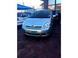 2005 Toyota Verso ,Low Kms!!!