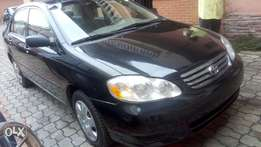 Toyota corolla 2003/04 Lagos clearing. Superb clean in and out.