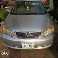A very clean Toyota corolla 2006 model, urgent buyer needed