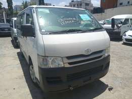 Toyota Hiace petrol at 1.75m