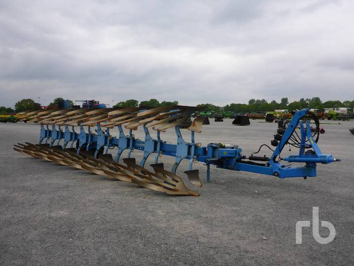 Lemken DIAMANT 11 V8L100 8 Bottom Rollover - 2016