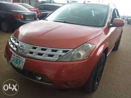 Clean used Nissan Murano 05 leather interior with full option
