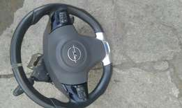 Opc opel corsa stearing wheel and airbag